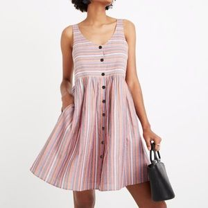 Madewell rainbow dress